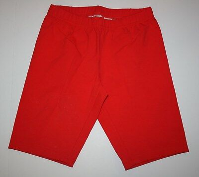 NEW Hanna Andersson Bright Red Bike Biker Shorts Size 140 CM 10 Year NWT Girls