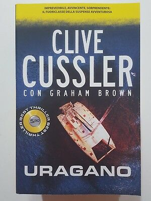 Clive Cussler, Graham Brown: Uragano NUOVO -50% ed. SuperPocket A76