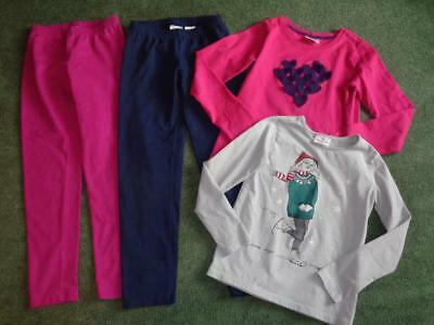 Hanna Andersson Girls Lot Clothes 140 Us 10 & 150 Us 12 Pants, Shirts
