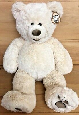 """Large Soft 25"""" Inch Plush Teddy Bear - Tan - Gift for Valentines day"""