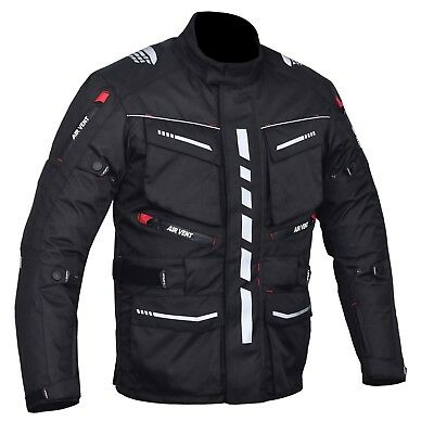 Motorbike, Motorcycle Cambridge Jacket, 600D Cordura Textile,CE Approved Armour