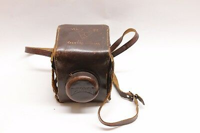 Pilot 6 Vintage German Camera w/Original Leather Case Military 25th Cavalry WWII