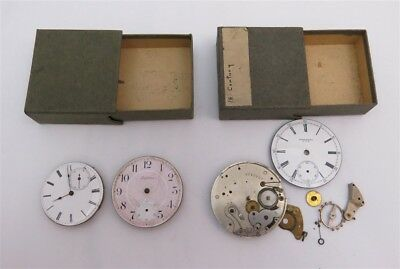 Lot of 3 Pocket Watch Works Edgemere, Perfection, Unknown *AS IS* (B)