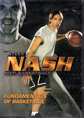 DVD - Steve Nash MVP Basketball  - Fundamentals of Basketball