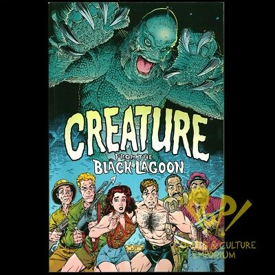 Universal Monsters CREATURE From the BLACK LAGOON Dark Horse TPB 1993 Art ADAMS!