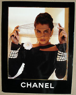 CHANEL Catalog Lookbook F/W 1990-1991 Karl Lagerfeld Yasmeen Ghauri