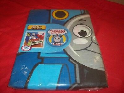 Thomas and Friends Junior Bed Set - Duvet Cover and Pillowcase