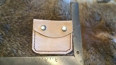 Possibles Bag Hand Stitched Leather Pouch