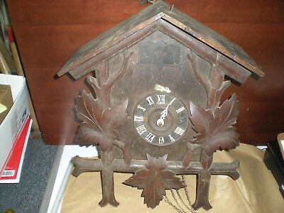 Antique (19th Century) Black Forest Cuckoo and Quail Clock Project