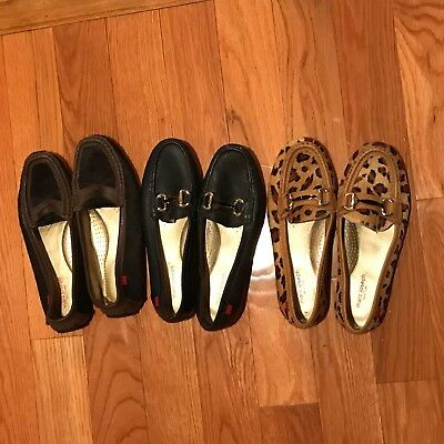 marc joseph lot of 3 women's shoes 8.5 8 1/2