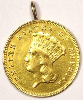 1878 Indian Three Dollar Gold Coin ($3) - XF Details (Ex-Jewelry) - Rare Coin!