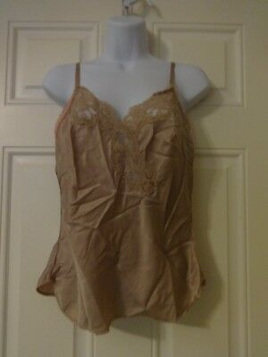 Vintage Retro Wonder Maid Non Cling Camisole Union Made Label USA Size 36