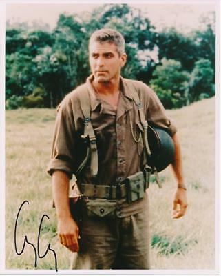 George Clooney- Color Glossy Signed Photograph