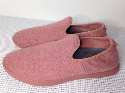 Allbirds Wool Loungers Mens 9 Women 10 Slip On Loafers Kotare Pink Peach