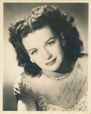 Rosemary DeCamp- Vintage Signed Sepia Matte Finish Photograph