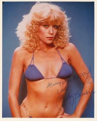 Judy Landers- Color Glossy Signed Photograph