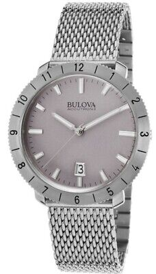 Bulova Accutron II 96B206 Silver Dial Stainless Steel Men's Watch