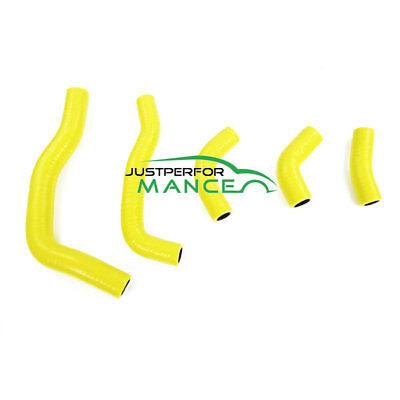 SILICONE HOSE KIT For HONDA CRF450R CRF 450 2005 YELLOW Color