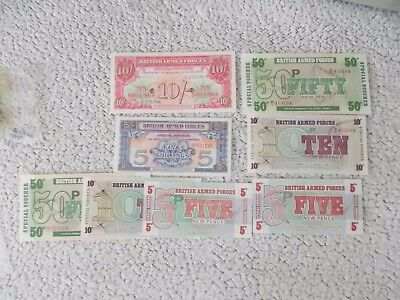 British Armed Forces banknotes