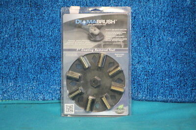 """DiamaBrush 7"""" Coating Removal Tool Replaceable Blades FACTORY SEALEED"""
