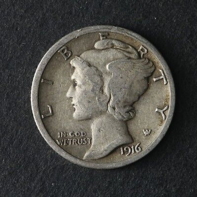 1916-S Mercury Dime Great Deals From The TECC Bargain Bin