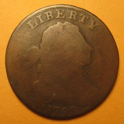 1798 Draped Bust Cent (S176 / R4). Attractive & Nice NO RESERVE !