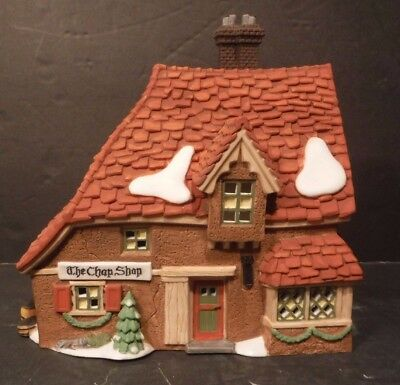 """Department 56 Dickens' Village Collection """"The Chop Shop"""" #58331 With Box 1995"""