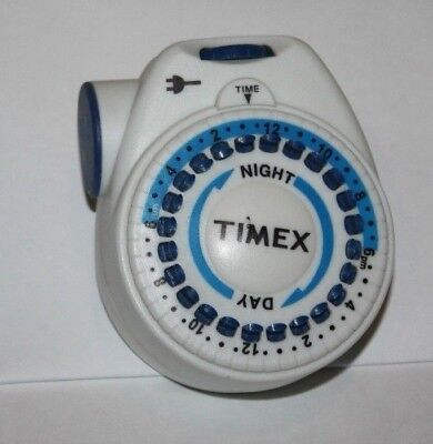 TIMEX Electric 24 Hour Timer Model 12-880 Lights On Off