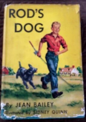 Rod's Dog ~  Vintage Boy And His Dog Story Book 1954