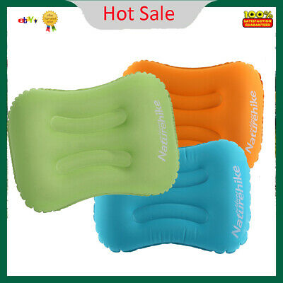 Naturehike Inflatable Pillow Airplane Travel Neck Pillow Portable Air Pillow DY
