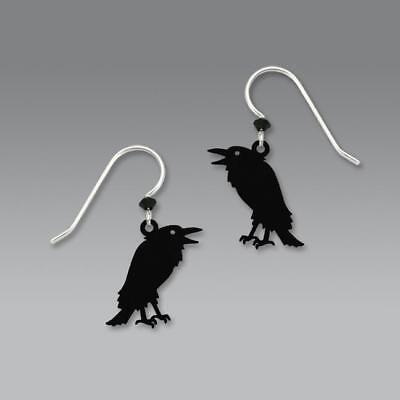 Sienna Sky Earrings 925 Sterling Silver Hook Talking Raven Handmade in USA