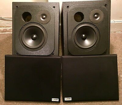 Used Eastern Acoustic Works (EaW) MS-30C Monitor Speakers in working condition.