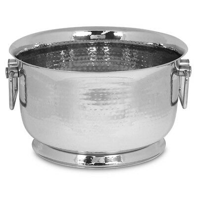 XLarge Silver Champagne Bucket with Handles/TUB/Wine Cooler/Ice Bucket/Metal