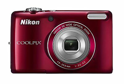 COOLPIX L26 16.1 MP Digital Camera w/ 5x Zoom NIKKOR Glass Lens and 3 In. LCD -