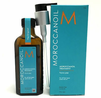 MOROCCANOIL Treatment 100ml 3.4oz Original Moroccan Oil w Pump FREE SHIPPING!!