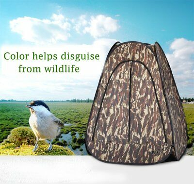 Portable Ground Hunting Camouflage outdoor photography Archery Hunter PopUp Tent