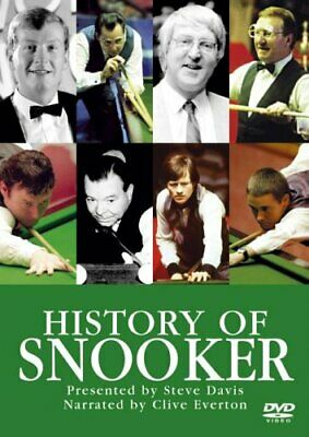 Special Interest - History Of Snooker [DVD] - DVD  U2VG The Cheap Fast Free Post