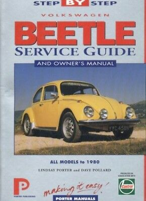 Volkswagen Beetle Step-by-step Service Guide: The ... by Pollard, Dave Paperback