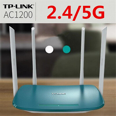 AU 1200Mbps Dual Band WiFi Wireless Range Extender Repeater Router 4 Antenna NEW
