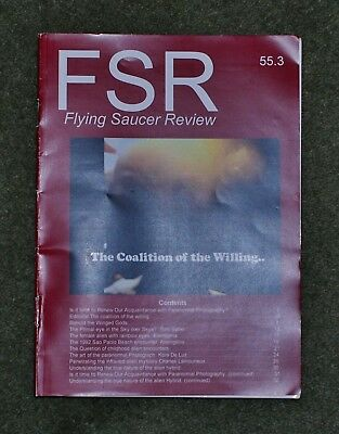 Flying Saucer Review issue 55.3