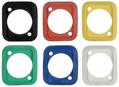 Neutrik SCDP- 0,2,4,5,6,9 Rubber Sealing Gasket D-Type chassis Various Colours