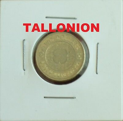 2012 Remembrance Day Gold Poppy $2 Coin (Plain) - Circulated