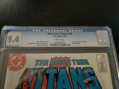 The New Teen Titans #39 (Feb 1984, DC) CGC 9.4