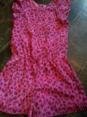 girls playsuit  age 8-9