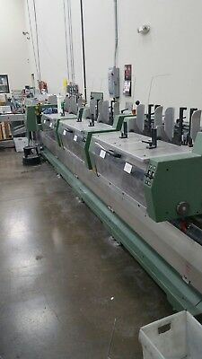 Muller Martini 2004 Valore Pocket  Inserter saddle stitcher 3 knife trimmer