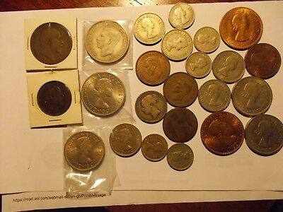 great britain coin lot