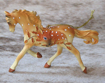 "TRAIL OF PAINTED PONIES Fawn Memories Ornament in Giftbox ~ 3.2"" Tall ~ Resin ~"