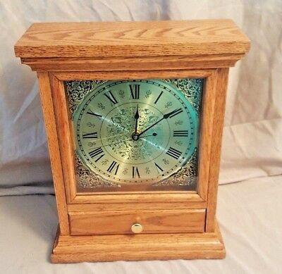 Beautiful Vintage Oak KLOCKIT Kit Clock with Westminster Chimes