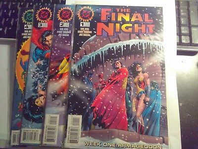 The Final Night #1_4 (Nov 1996, DC)key issues