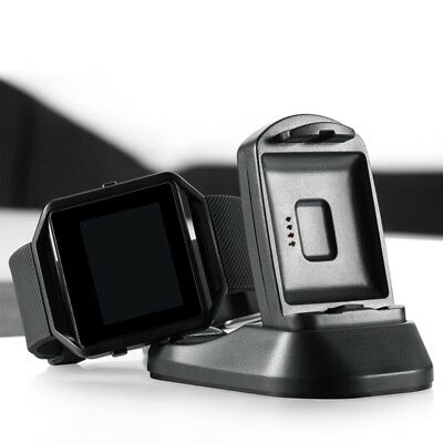 New USB Charging Cradle Cable Dock Station Holder Charger For Fitbit Blaze Watch